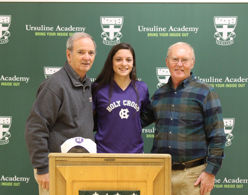 Ashley Thomas Commits to College of the Holy Cross