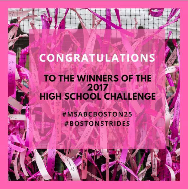 Ursuline takes 3rd place in Making Strides High School Challenge