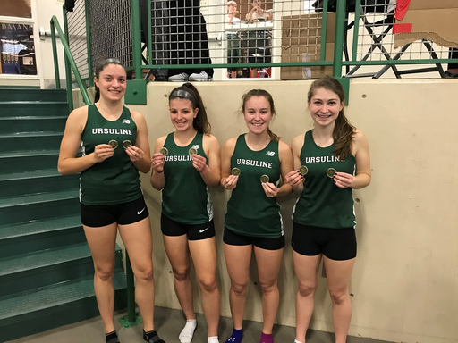 Ursuline track shines at State Relays