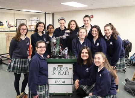 Robots in Plaid Head to State Competition