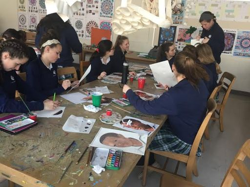 Ursuline Students Lead Memory Project