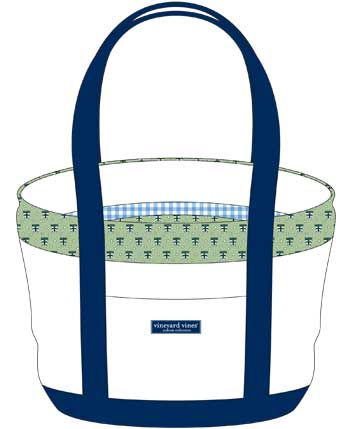 Vineyard Vines Green Bag