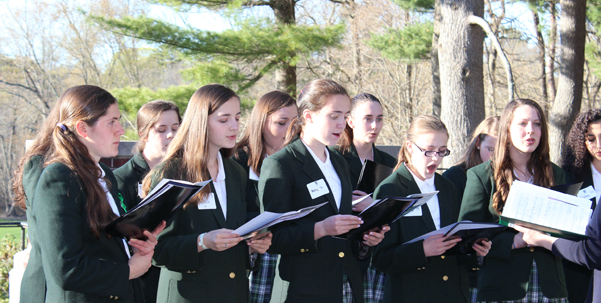 Ursuline choral group